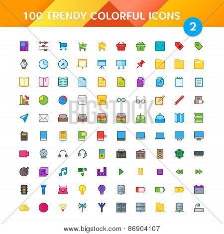 100 Universal Icons Set 2