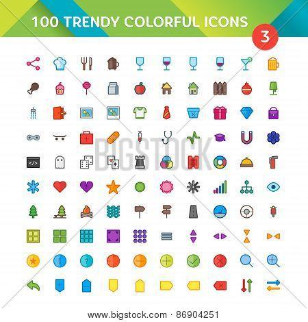 100 Universal Icons Set 3