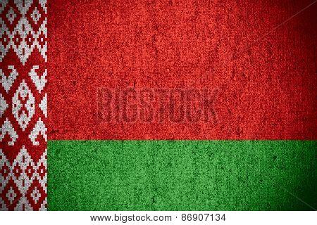 Flag Of Belarus, Belarussia