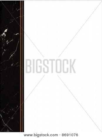Black Marble Frame