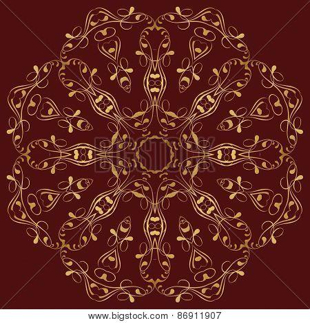 East Circular  Ornament