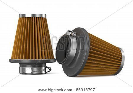 Orange Air Filter For Car