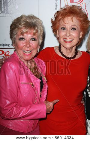 LOS ANGELES - MAR 29:  Mitzi Gaynor, Carol Lawrence at the 28th Annual Gypsy Awards Luncheon at the Beverly Hilton Hotel on March 29, 2015 in Beverly Hills, CA