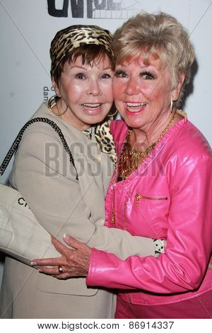LOS ANGELES - MAR 29:  Neile Adams, Mitzi Gaynor at the 28th Annual Gypsy Awards Luncheon at the Beverly Hilton Hotel on March 29, 2015 in Beverly Hills, CA