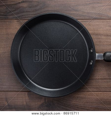 big frying pan on the table