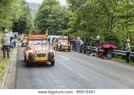 Cochonou Caravan In Vosges Mountains