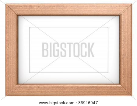 Mahogany Picture Frame.