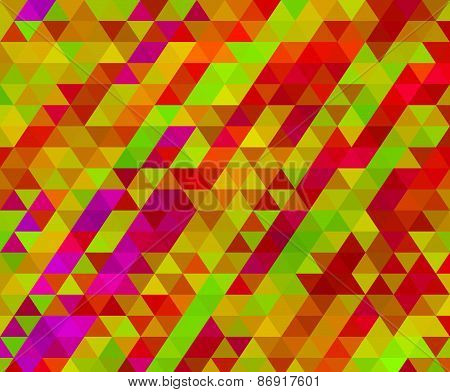 Low Poly Triangle Mosaic Background