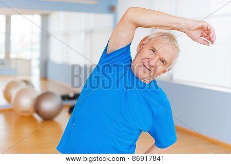 Active Senior Man.