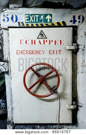 White Ships Door Locked Ship