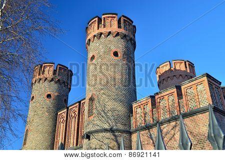 Friedrichsburg Gate. Kaliningrad (formerly Koenigsberg), Russia