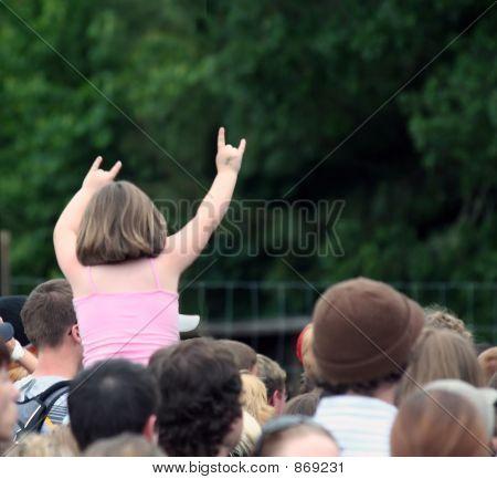 Little Girl Rocker