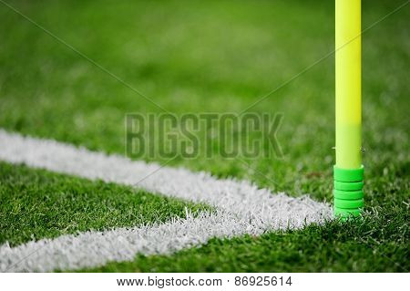 Soccer Field Corner Detail