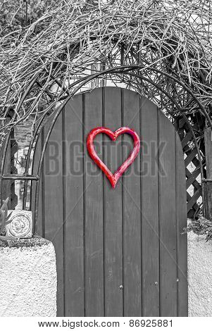 Heart Shape Door