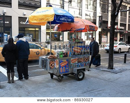 New York City Street Vendor