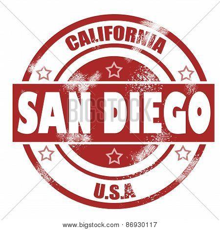 San Diego Stamp