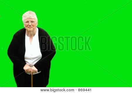 granny green isolated