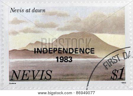 Nevis At Dawn
