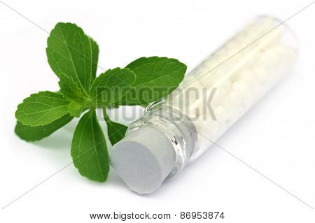 Homeopathic Globules With Stevia