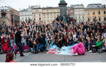 the international Flashmob day of rueda de Casino57