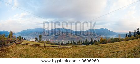 Autumn Mountain Village