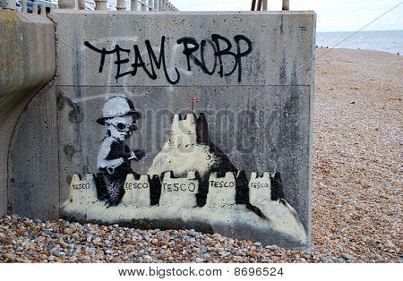 Mural de Banksy, St.Leonards