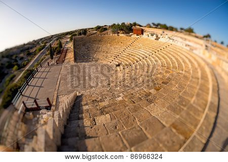 Kourion Amphitheater. Limassol District, Cyprus