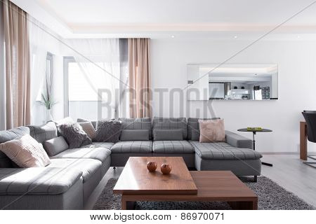 Decorative Cushions On Corner Sofa