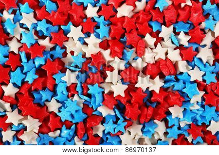 Colorful sprinkles background
