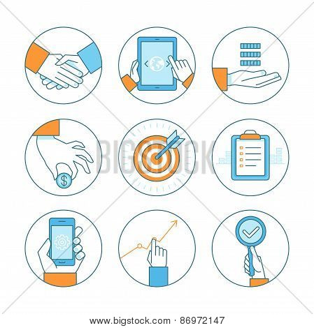 Vector Business Concepts And Icons