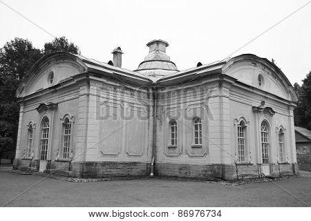 Palace In Oranienbaum.