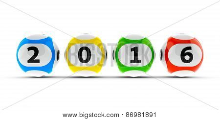 Lottery Balls 2016