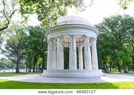 DC District of Columbia War Memorial in Washington US USA
