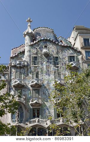Gaudí's Casa Batllo In Barcelona
