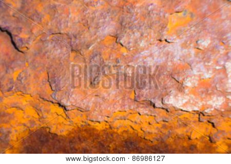 Blurred Rusted Background