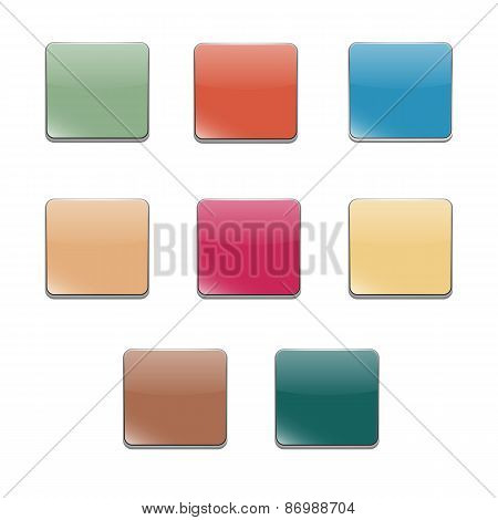 Set Volumetric Buttons, Vector