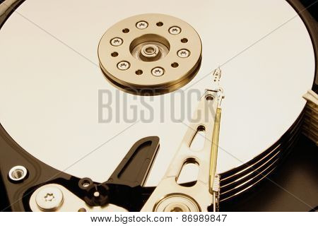HDD - Hard Disk Drive is open
