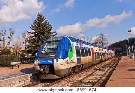 Regional Train Sncf Bombardier 82500