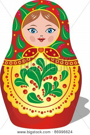 Russian Matryoshka Toy [
