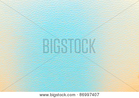 Leather Yellow Azure Texture For Background