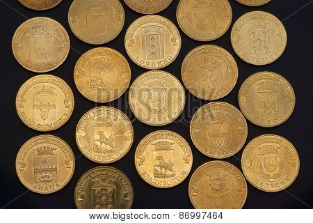 Russian Commemorative Coin Set (Military Glory)