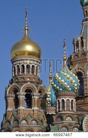 Church of the Savior on Blood Details