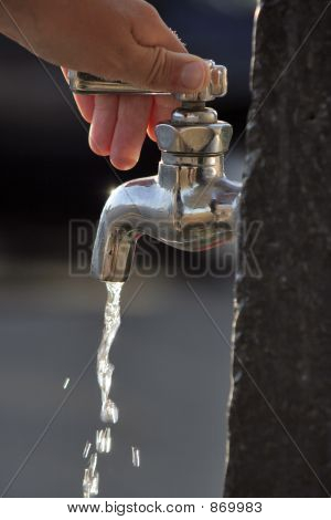 Turning the tap