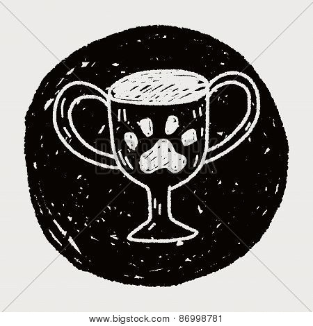 Doodle Pet Champion Cup