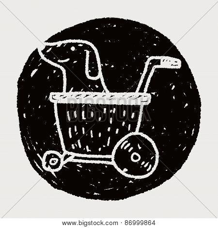 Doodle Dog Stroller