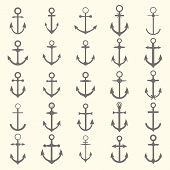 picture of anchor  - Big set of anchors - JPG