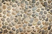 image of stone floor  - the floor built of natural stone - JPG