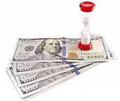 image of sand dollar  - Time is money - JPG