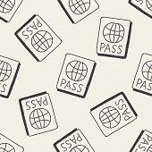 foto of passport cover  - Doodle Passport - JPG