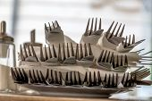 pic of impaler  - cutlery with forks and knives - JPG